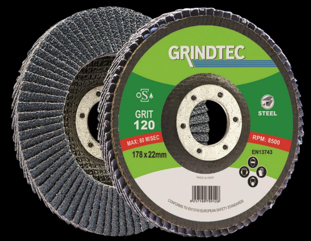 GRINDTEC Flap Discs by Saint-Gobain Abrasives