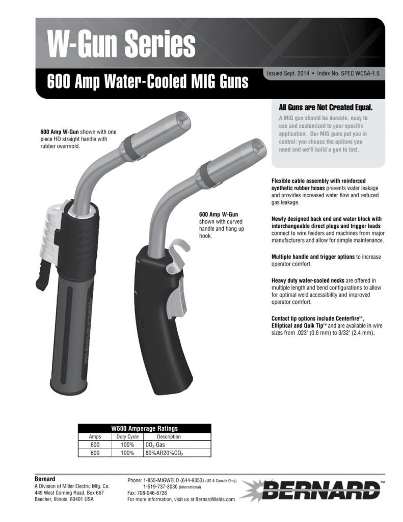 Water Cooled Mig Guns by Bernard