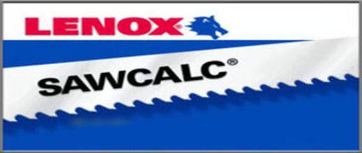 Sawcalc Band Saw Blades by Lenox